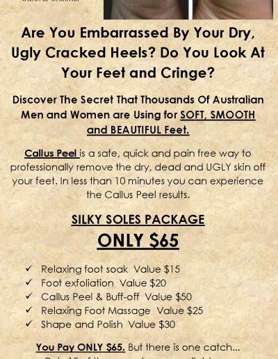 Foot-Peel-package